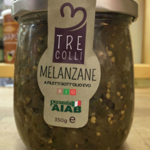 melanzane sott'olio bio