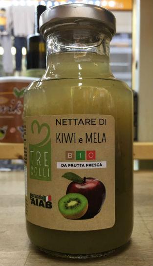 nettare di kiwi e mela bio