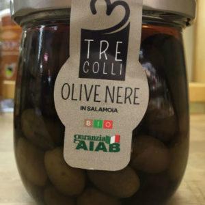 olive nere in salamoia bio