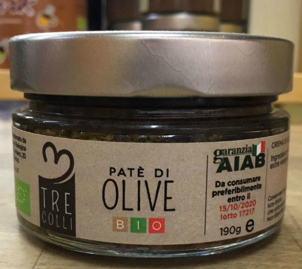 crema di olive bio