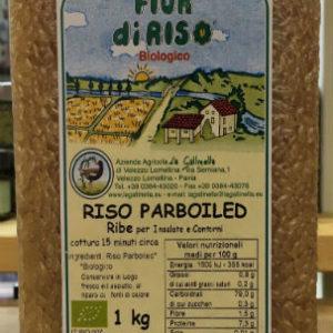 riso parboiled La Gallinella bio